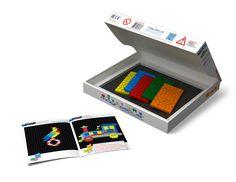 Магнитная мозаика с игровым полем : Магнитная Мозаика (650 элементов)