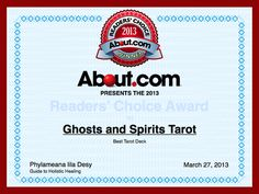 Readers Choice: Ghost and Spirits Tarot Deck