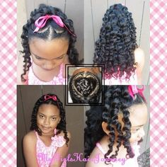 Perfect Sweet Heart Hairdo   ♥   Great for Valentines Day