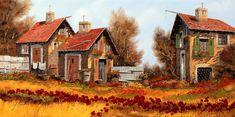 Eski sokaklar ... sanatçı Guido Borelli .. LiveInternet tartışması - Rus Servis Online Diaries