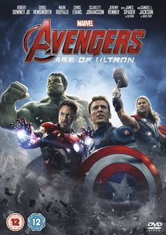 """Avengers: Age of Ultron (2015) based on the comics by Stan Lee and Jack Kirby, directed by Joss Whedon, starring Robert Downey Jr., Chris Evans, Chris Hemsworth, Mark Ruffalo, Scarlett Johansson, Jeremy Renner, Aaron Taylor-Johnson, Elizabeth Olsen, James Spader, Samuel L. Jackson, Cobie Smulders, Paul Bettany, Anthony Mackie and Hayley Atwell. """"When Tony Stark and Bruce Banner try to jump-start a dormant peacekeeping program called Ultron, things go horribly wrong."""""""