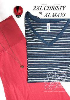 shop this look and more at www.shopwithmandyvignoli.com #lularoechristy #lularoemaxi #springfashion #plussizefashion