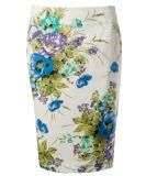 rickis : womens: apparel Floral Bouquets, Fashion Outfits, Fashion Ideas, Floral Tie, Sewing Projects, Pencil, Style Inspiration, My Style, Skirts