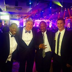 """""""The guys all dressed up for the #SGFUS Entrepreneur of the Year Awards Gala!"""""""