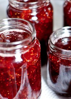 "Grandma made lots of this (jams and other things, including ""canned"" potatoes, which I hated). Careful handling, boiling, wax and an airtight seal were required for successful storage."