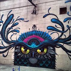 ~ Jeff Soto STREET ART Mural In Richmond, Virginia ~