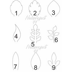 Set of 9 PDF LEAF TEMPLATES Please confirm your email, i'll send it to your email Handmade Materials: our downloadables files, paper, glue, scissors, pencil made to order questions? contact the shop owner Create your own paper flowers using newproject_11 templates Our templates