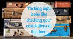 Packing Light: a review and what that looks like for me