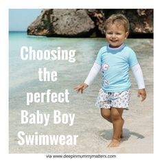 Need a little help in choosing the perfect baby boy swimwear? Check out my guide on the blog now (link in bio) #babyboy #swimwear #kidsfashion