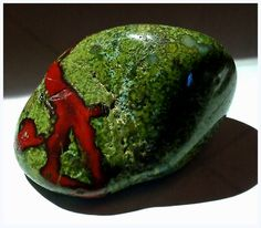 Dragon Blood Jasper enhances life force, courage, strength, and vitality. It aids in recovering from illness and in following one's life purpose. It can also help to bring one's lower self into the service of the heart.  http://heavenandearthjewelry.com/gemstone-shapes/dragon-blood-jasper.aspx