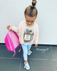 girls outfit Source by VestosClothing Little Boy Fashion, Little Girl Outfits, Toddler Girl Outfits, Baby Girl Fashion, Toddler Fashion, Kids Fashion, Latest Fashion, Noora Style, New Dress For Girl
