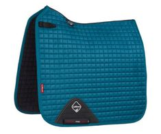 LeMieux Pro Sport Luxury Suede Dressage Square Saddle Cloth Pad - Peacock Green