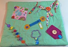 Large Fidget Quilt Sensory Blanket for Alzheimer's, Dementia, Stroke, Nursing Home, Hospital Patients, Autism, Occupational Therapy - The Fairy Felt Mother - Etsy
