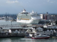@MyRoyalUK Independence of the Seas dwarfing the buildings in Southampton. #cruise #travel