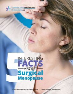 Five interesting things about Surgical Menopause