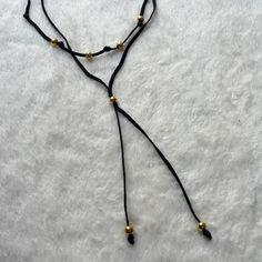 Lila&Sirena: DIY | Double Beaded Choker Necklace