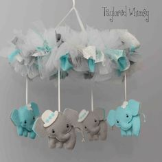 Hey, I found this really awesome Etsy listing at https://www.etsy.com/listing/203050279/elephant-mobile-baby-mobile-custom