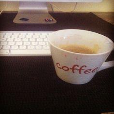 #work #editing #coffee #imovie #mac