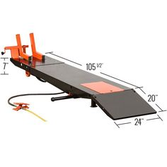 Motorcycle lift table dimensions