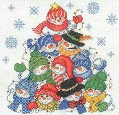Stacking Snowmen