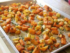 Roasted Winter Vegetables Soup