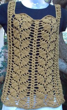 Crochet Blusas Patterns Enjoy tried and tested FreeCrochet Patterns, written in English, with loads of links, charts and photographs. Crochet Stitches Free, Easy Crochet Patterns, Knitting Patterns Free, Free Crochet, Knit Crochet, Free Pattern, Crochet Bodycon Dresses, Black Crochet Dress, Crochet Blouse
