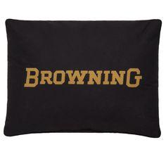 Browning Buckmark Burgundy Oblong Pillow 14 x 20 | FREE SHIPPING