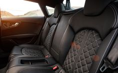 """Aaudi S7 """"The seats appear to have been hand stitched by an elderly German leather worker somewhere high in the Alps."""" -MotorTrend Read more at Men's Health: http://www.menshealth.com/techlust/audi-s7#ixzz2KRjTOoim"""