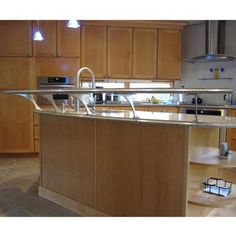 Easily Create a Floating Countertop with Federal Brace's Foremont Counter Mounted Countertop Bracket | KitchenSource.com