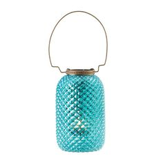 Blue Diamond Candle Lantern – The Spinster's Shoppe