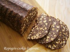 Ropogós-csokis őzgerinc Eat Me Drink Me, Food And Drink, Cookie Recipes, Dessert Recipes, Waffle Cake, Homemade Cakes, Something Sweet, Cake Cookies, Fudge