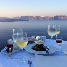 Dine in Oia village, Santorini island, Greece. - selected by www.oiamansion.com
