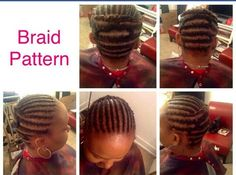 Crochet braid pattern....recommended for Senegalese twist install