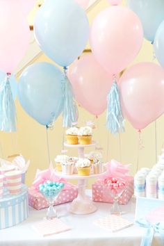 Boy or Girl? Gender Reveal Party Ideas