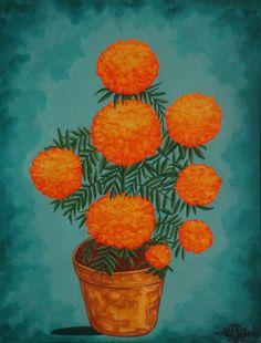 Nambo - Art 47. Flor de Muertos (Cempasúchil).