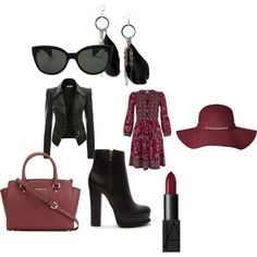 Untitled #345 by sarahepburn28 on Polyvore featuring polyvore fashion style Monsoon Forever 21 MICHAEL Michael Kors MANGO Oliver Peoples NARS Cosmetics