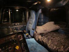 "Peterbilt cabover interior with 76"" BBC"