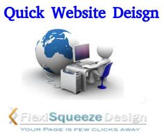Use quick website design and promote your business page, easier and faster like never before! Create an outstanding impression of your website on visitors.
