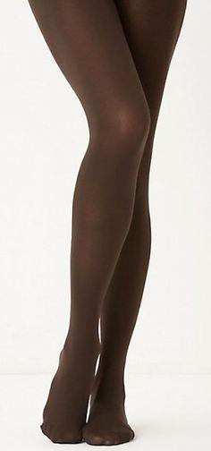 brown tights.