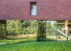 Mirrors emphasise the cantilever of this house in Katowice, Poland.