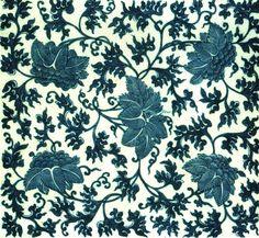 Porseleinen tegel als tafel decoratie,  kobalt blauwe glazuur. Dynastie Qing, tijdens de regerings- periode van keizer Jiaqing (1796-1820) Kobalt, China Art, Qing Dynasty, Period, Kunst