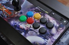 My precious Mad Catz Fighstick Pro Street Fighter X Tekken for XBOX 360 ^^