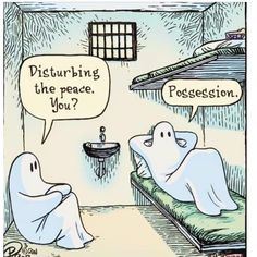 @bittycar by Dan Piraro #ghost Halloween Humor, Halloween Quotes, Halloween Ghosts, Halloween Ideas, Memes Humor, Top Memes, Jokes, Funny Images, Funny Pictures