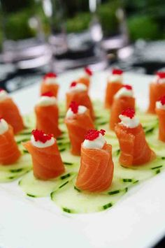 Fall Wedding Reception Food Ideas