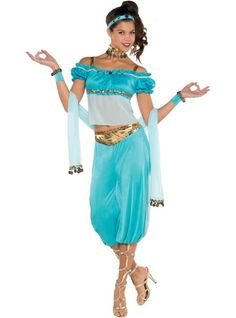 Adult Princess Jasmine Costume - Party City || Again, someday...