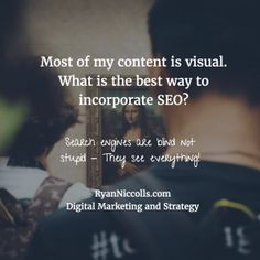 Seo strategies for audio visual content | Digital Marketing and Strategy Bristol