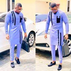 Latest African Wear For Men, Latest African Men Fashion, African Shirts For Men, Nigerian Men Fashion, African Dresses Men, African Attire For Men, African Clothing For Men, Mens Fashion, Africa Fashion