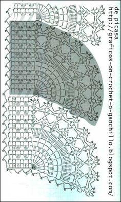 Scarf edging crochet pattern!