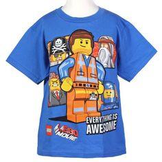 "LEGO Movie ""Everything is Awesome"" Boys Short Sleeve Shirt (Extra Small (4/5)) LEGO,http://www.amazon.com/dp/B00I9N6VTY/ref=cm_sw_r_pi_dp_QZAxtb1JAE6P7FQ9"
