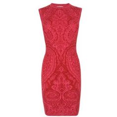 PATRIZIA PEPE Brocade Bodycon Dress - Flannels
